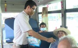 Tiền Giang tiếp tục nới lỏng các biện pháp phòng chống dịch đối với các phương tiện vận tải hành khách