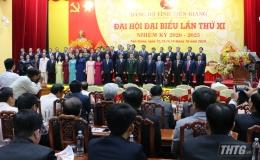 Chân dung và lý lịch trích ngang Ban Chấp hành Đảng bộ tỉnh Tiền Giang khoá XI, nhiệm kỳ 2020-2025