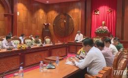 Tiền Giang họp Ban chỉ đạo phòng chống dịch bệnh Covid-19