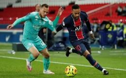 """""""Song sát"""" Neymar và Mbappe săn bàn, PSG đè bẹp đối thủ bằng ván đấu tennis"""