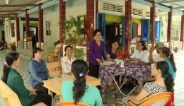 Phụ nữ Chợ Gạo chung tay đảm bảo ATVSTP bằng mô hình sản xuất sạch