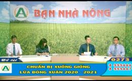 """Bạn nhà nông """"Chuẩn bị xuống giống lúa Đông xuân 2020-2021″"""