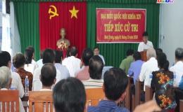Chuyên đề 02.10 – Đại biểu tiếp xúc cử tri huyện Châu Thành