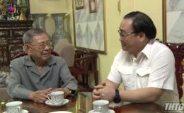 Ông Hoàng Trung Hải thăm nguyên lãnh đạo tỉnh Tiền Giang