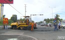 Cục quản lý đường bộ IV.3 sửa chữa tuyến tránh Thị xã Cai Lậy