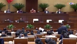 Đại biểu quốc hội chất vấn về sản xuất nông nghiệp thích ứng biến đổi khí hậu