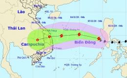 Bão Goni đã vào Biển Đông, thành bão số 10 mạnh cấp 9, giật cấp 12