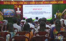 Sở NN&PTNT Tiền Giang họp mặt kỷ niệm 75 năm thành lập ngành