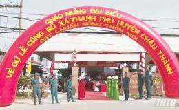 Xã Thạnh Phú, huyện Châu Thành ra mắt xã nông thôn mới