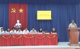 Chủ tịch HĐND tỉnh và Chủ tịch UBND tỉnh Tiền Giang tiếp xúc cử tri