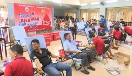 Chuyên đề 13.11 – Gương sáng trong phong trào hiến máu tình nguyện