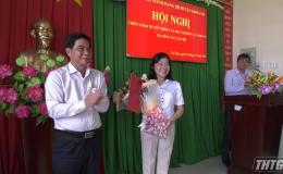 Bà Nguyễn Thị Hồng Tuyến – Nguyên Bí thư huyện uỷ Cai Lậy nghỉ hưu