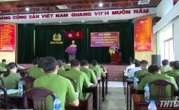 Công an Tiền Giang tổ chức hội thảo chuyên đề về phòng chống tội phạm và vi phạm pháp luật về ma túy