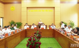 UBND tỉnh Tiền Giang tổ chức họp thành viên tháng 10/2020
