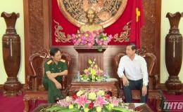 Chủ tịch UBND tỉnh Tiền Giang làm việc với lãnh đạo Tập đoàn Viễn thông Quân đội
