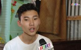Hoàn cảnh em Nguyễn Tuấn Vỹ – Trường THPT Thiên Hộ Dương, huyện Cái Bè