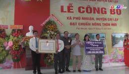 Chuyên đề 08.12 – Xã Phú Nhuận đúng hẹn với nông thôn mới
