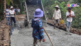 Chuyên đề 11.12 – Xã Bình Trưng hoàn thành 19 tiêu chí nông thôn mới