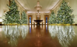 Nhà Trắng trang trí lộng lẫy đón Giáng sinh 2020