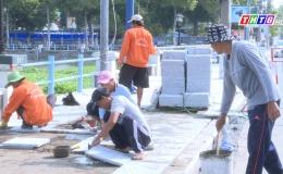 Chuyên đề 11.12 – Tiến độ thực hiện dự án cải tạo nâng cấp công viên Tết Mậu thân
