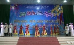 Phòng Giáo dục và Đào tạo huyện Cái Bè tổ chức Hội diễn văn nghệ