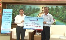 VietinBank hỗ trợ hơn 5 tỷ đồng thực hiện các công trình an sinh xã hội tại tỉnh Tiền Giang