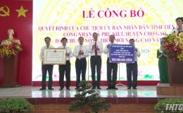 Xã Phú Kiết công bố đạt chuẩn nông thôn mới nâng cao