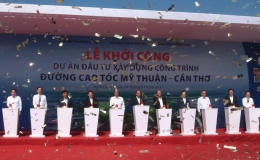 Thủ tướng phát lệnh khởi công tuyến cao tốc Mỹ Thuận – Cần Thơ
