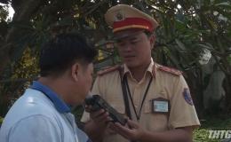 Cảnh sát giao thông Tiền Giang phát hiện và xử lý trên 3.000 trường hợp vi phạm nồng độ cồn