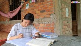Hoàn cảnh em Hồ Thị Ngọc Hạnh – Trường THPT Tân Phước