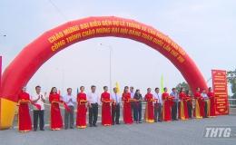 Thông xe cầu Nguyễn Văn Tiếp chào mừng Đại hội XIII của Đảng
