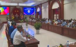 Đoàn Đại biểu Quốc hội Tiền Giang họp mặt kỷ niệm 75 năm Ngày Tổng tuyển cử