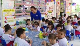 Tiền Giang chú trọng đảm bảo an toàn vệ sinh thực phẩm trong trường học