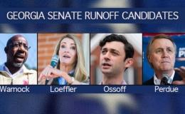 Phe Cộng hòa đặt cược vào Trump trong cuộc bầu cử Thượng viện tại Georgia