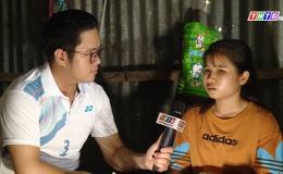 Hoàn cảnh gia đình em Mỹ Hân, học sinh lớp 11 Trường THPT Nguyễn Văn Tiếp