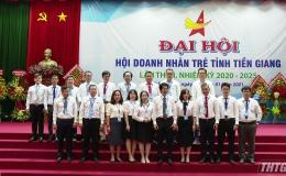 Tổng Giám đốc Cty CP Đông Trùng Hạ Thảo HiMa làm Chủ tịch Hội Doanh nhân trẻ Tiền Giang
