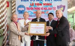 Viện Võ học tôn vinh môn phái Độc Quyền Long của dòng họ Lê tại Tiền Giang