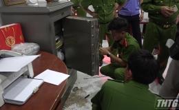 Cửa hàng xe máy Văn Hải 2, huyện Chợ Gạo bị trộm đột nhập
