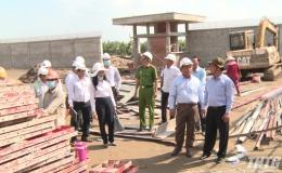 Chủ tịch UBND tỉnh Tiền Giang thăm và làm việc với Cơ sở Cai nghiện ma túy