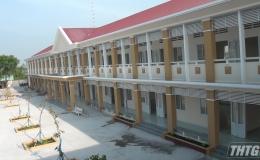 Nghiệm thu đưa vào sử dụng Trường THCS Võ Văn Dánh, huyện Gò Công Đông