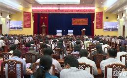 Tiền Giang tổ chức hội nghị trực tuyến triển khai Nghị quyết Đại hội Đảng bộ tỉnh lần thứ XI, nhiệm kì 2020-2025