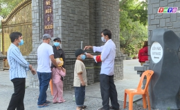 Chuyên đề 18.02 – Thiền viện Trúc Lâm Chánh Giác nâng cao công tác phòng chống dịch cho người dân đến viếng Chùa