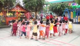 Chuyên đề 24.2 – Trường mẫu giáo Tân Trung phấn đấu đạt chuẩn quốc gia