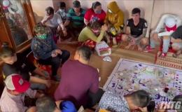Triệt phá điểm đánh bạc ăn thua bằng tiền tại huyện Cai Lậy, thu giữ gần 100 triệu đồng