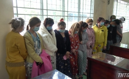 Công an tỉnh Tiền Giang bắt quả tang cơ sở massage hoạt động mại dâm