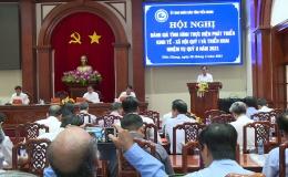 UBND tỉnh Tiền Giang đánh giá công tác chỉ đạo điều hành kinh tế xã hội quý 1/2021