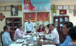 Chủ tịch Hội Người caotuổi Việt Nam thăm và làm việc tại Tiền Giang