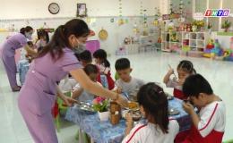 Tiền Giang tăng cường công tác bảo đảm VSATTP trong trường học