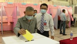 Cử tri Tiền Giang nô nức tham gia ngày hội bầu cử