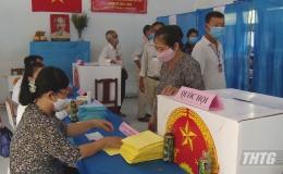 Bầu cử ngày hội của toàn dân gắn liền với công tác phòng chống dịch Covid 19